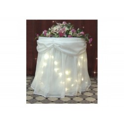 Starlight Cake Table Skirt