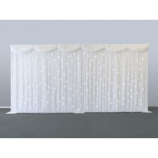 Starcloth Backdrop White LED - Limited offer!!