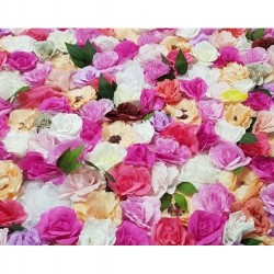Pink Mixed Floral Backdrop