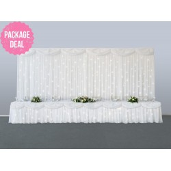 Wedding Backdrop Package Deal