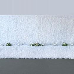 White / Ivory Flower Backdrop