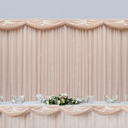 Starlight Wedding Backdrop Kit Blush
