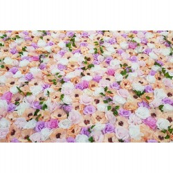 SPRING MIX FLOWER WALL