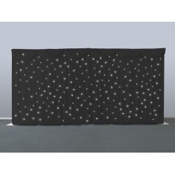 Black Starcloth Backdrop